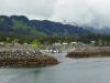 Approaching Seldovia harbor